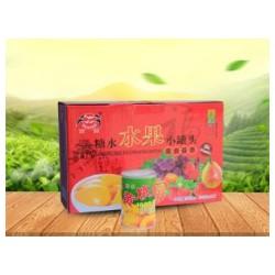 潍坊销量好的水果罐头批发,微商小罐头