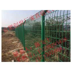 上海包塑丝护栏网浸塑丝护栏网三角折弯护栏网厂家报价含安装