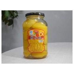黄桃罐头哪里有-潍坊糖水黄桃罐头批发供应