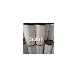 空压站滤筒燃气轮机滤筒供应风机房覆膜聚酯纤维滤布除尘滤芯