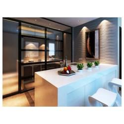 左旗厨房隔断价格-可靠的宁夏厨房隔断是哪家