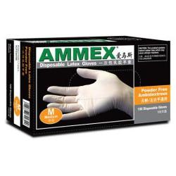 爱马斯AMMEX一次性PVC手套 食品手套 无粉手套