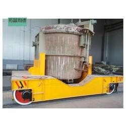 超低价搬运钢结构轨道电动平车 过跨搬运车业厂家品质保障