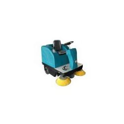 1360小型工业专用电动驾驶式扫地扫地喷水吸尘垃圾清扫车