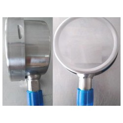 一体焊接耐震不锈钢压力表