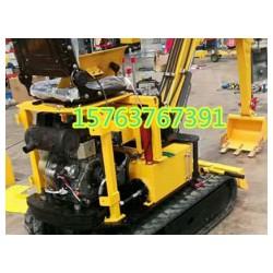 自走式自由旋转挖掘机轻型挖沟机型号系列大马力柴油勾机图片大全