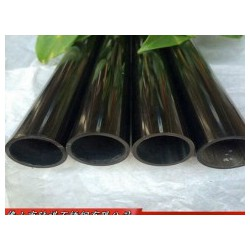 2.0厘米圆管304不锈钢装饰黑钛金电镀