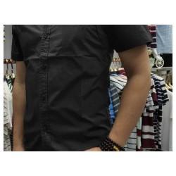 夏季薄款男式短袖衬衫品牌服饰库存尾货特卖