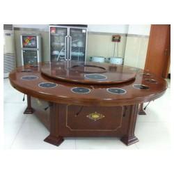 广西实木火锅桌-如何选购好的实木火锅桌