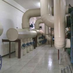 不锈钢白铁设备罐体保温施工队电厂烟道岩棉板保温工程